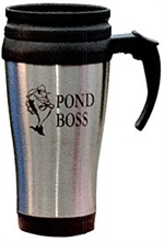 Pond Boss Stainless Steel Coffee Mug