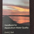 HANDBOOK FOR AQUACULTURE WATER QUALITY