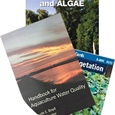 Handbook for Aquaculture Water Quality, Water Weeds & Algae, and Plant ID book